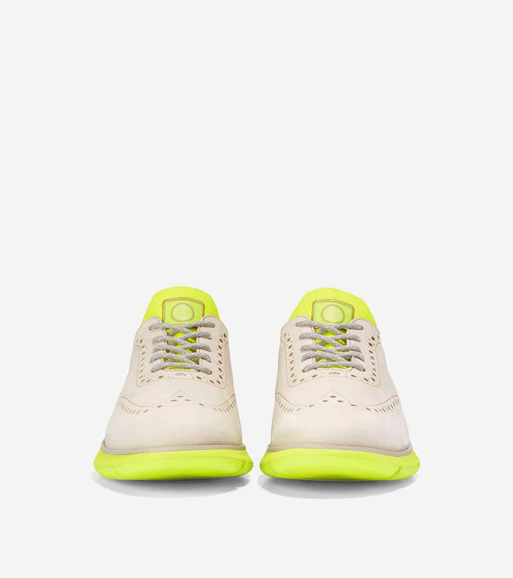 Cole Haan 4.ZERØGRAND Oxford Cement Nubuck/Safety Yellow