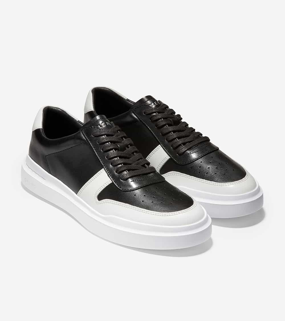 Cole Haan GrandPrø Rally Court Sneaker Black / White