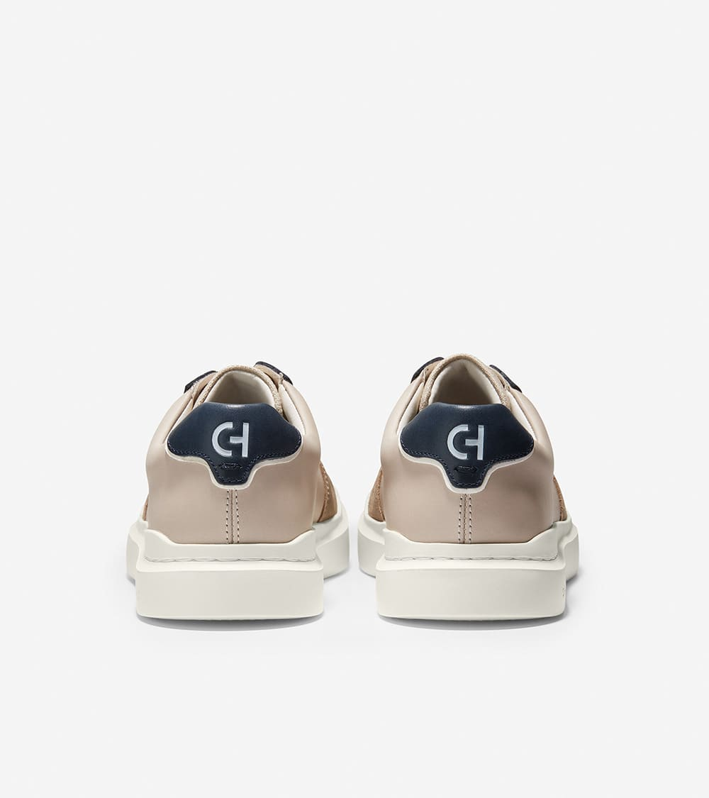 Cole Haan GrandPrø Rally Court Sneaker Silver Linning/Soft Sage/Navy Ink