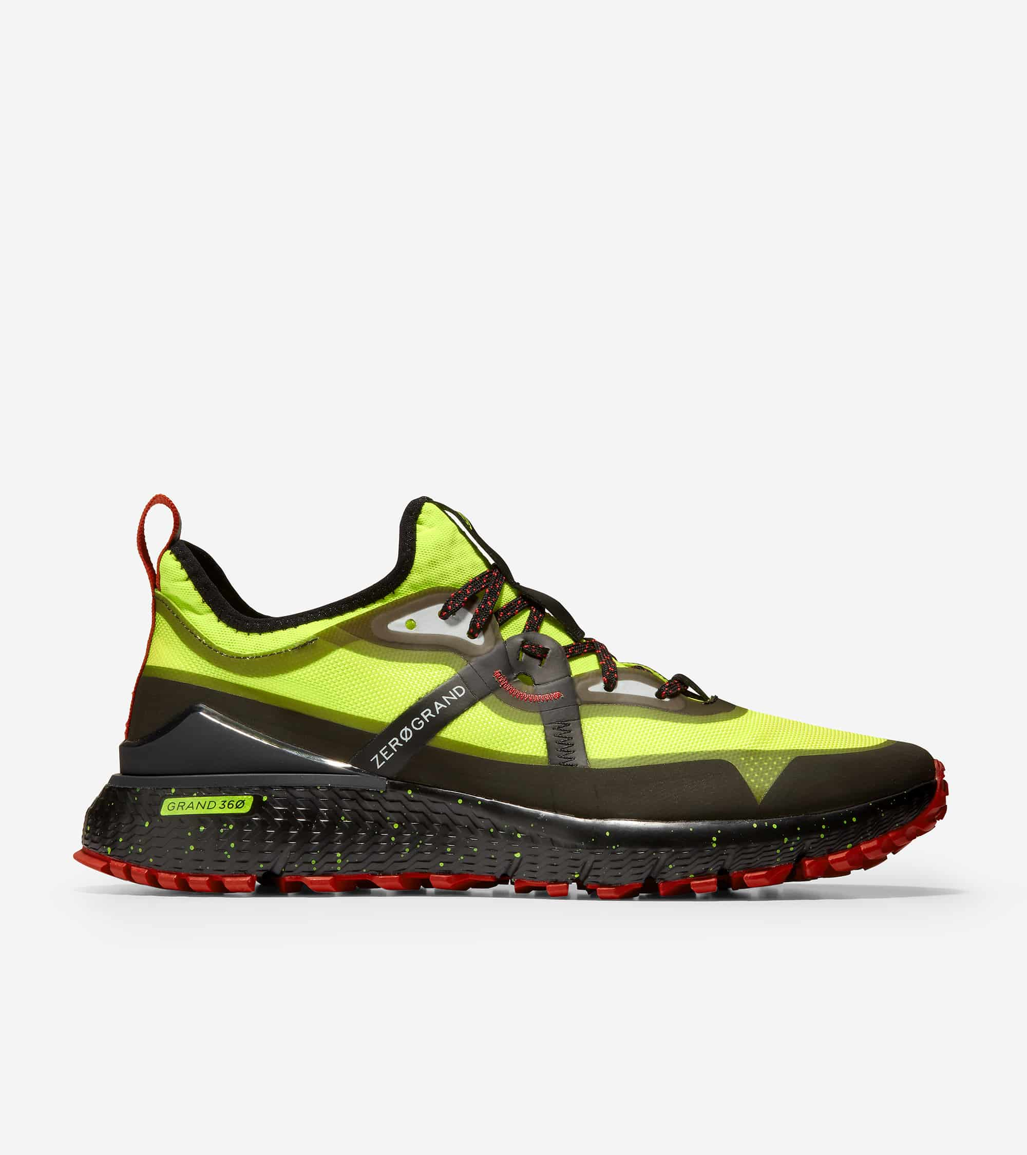 ZEROGRAND OVERTAKE ALL TERRAIN WR SAFETY YELLOW/BLACK WR/BLACK WITH SPECKLE-MOLTEN LAVA