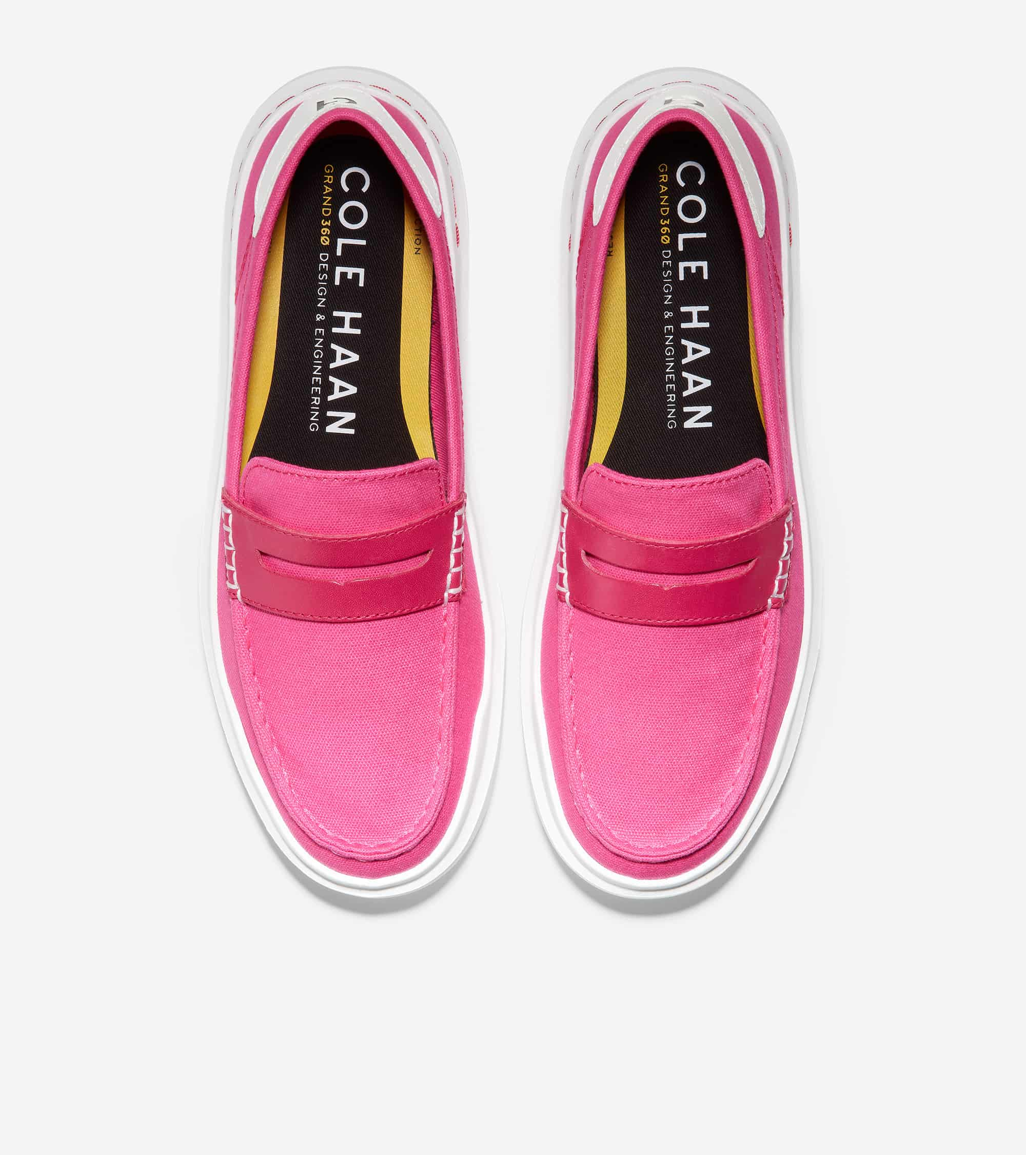 GRANDPRO RALLY CANVAS PENNY LOAFER BRIGHT BERRY / OPTIC WHITE
