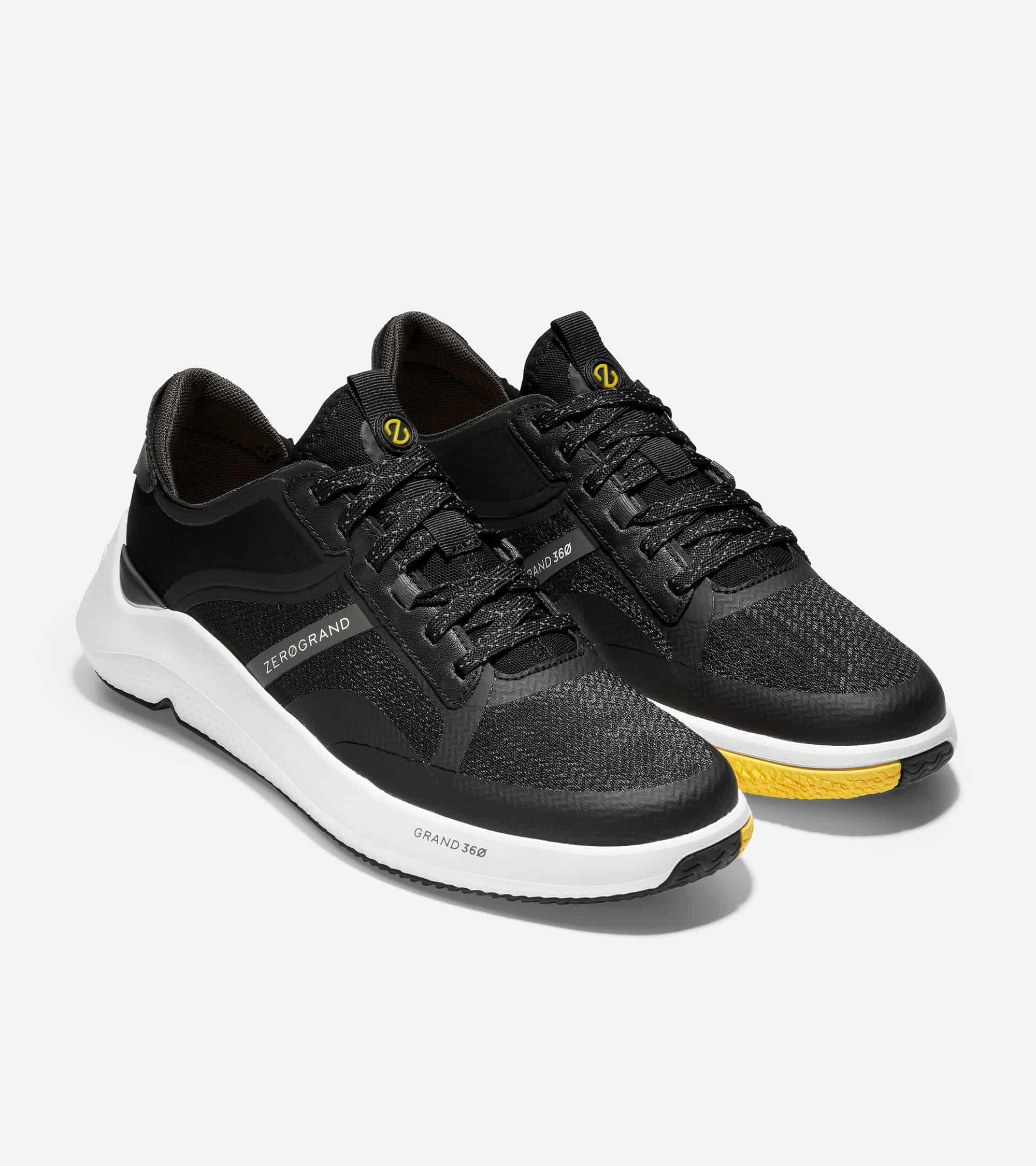 Cole Haan ZERØGRAND Winner Tennis Sneaker  Black/Pavement/White