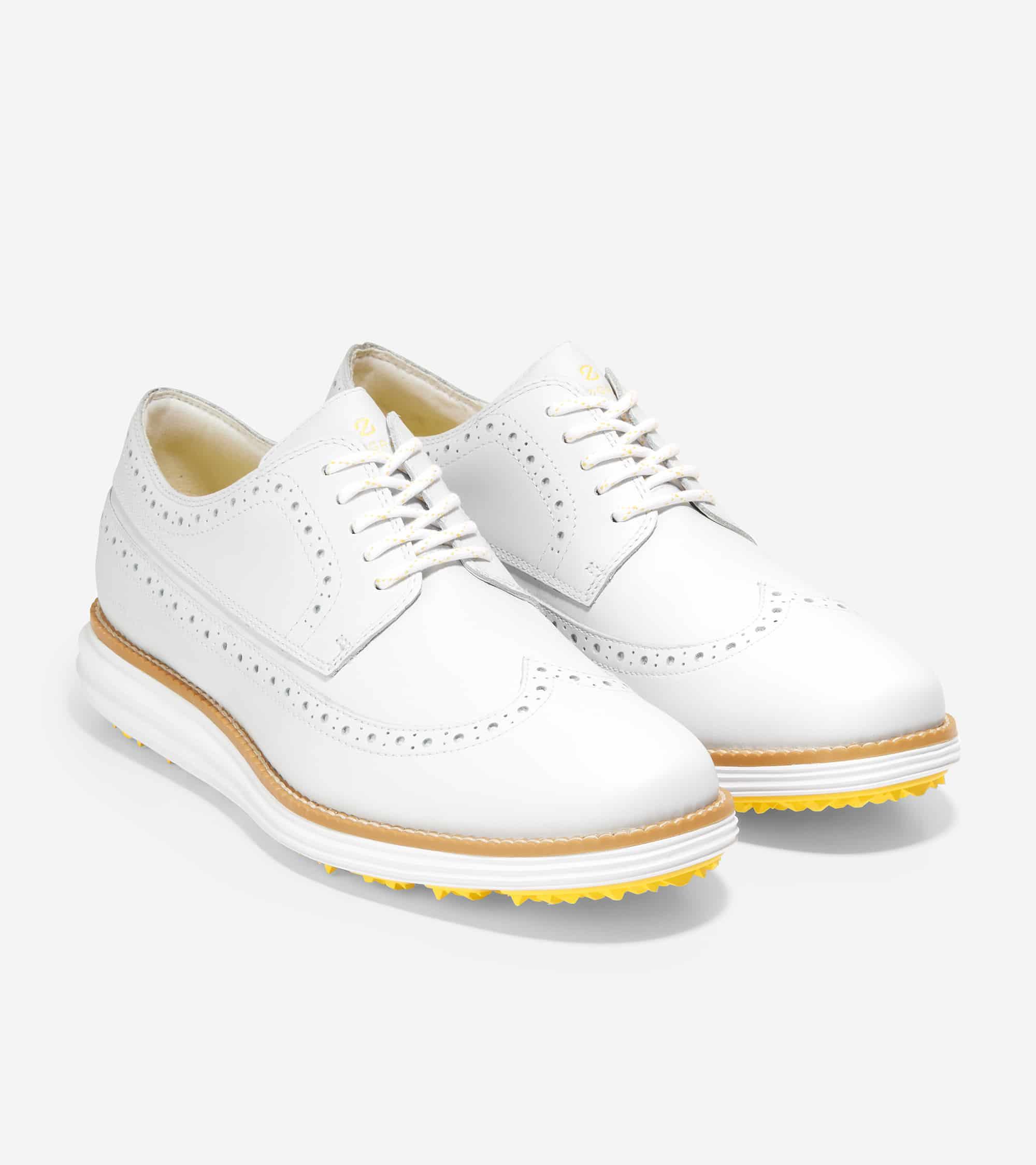 Cole Haan Øriginalgrand Golf Spklss Wp White/White Wp