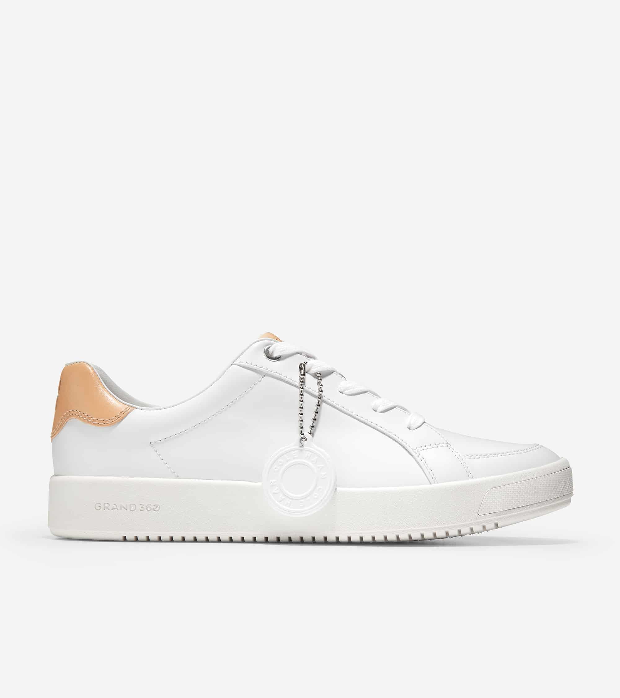 Cole Haan Grandprø Finalist Sneaker White Eco Rebound Leather/ Optic White