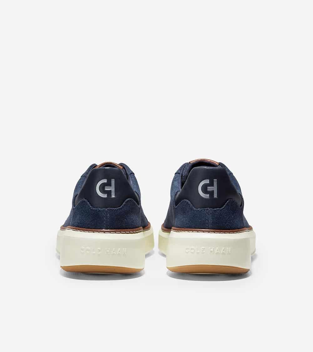 Cole Haan GrandPrø Topspin Sneaker Navy Ink Suede