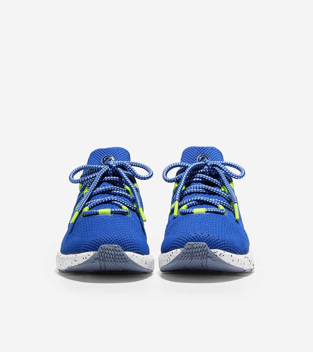 Cole Haan ZERØGRAND Overtake Lite Running Shoe Blue-Lime-Black