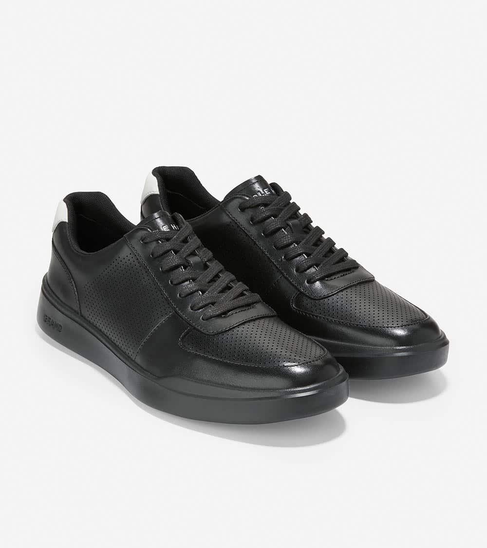Cole Haan Grand Crosscourt Modern Sneaker Black/Black/White