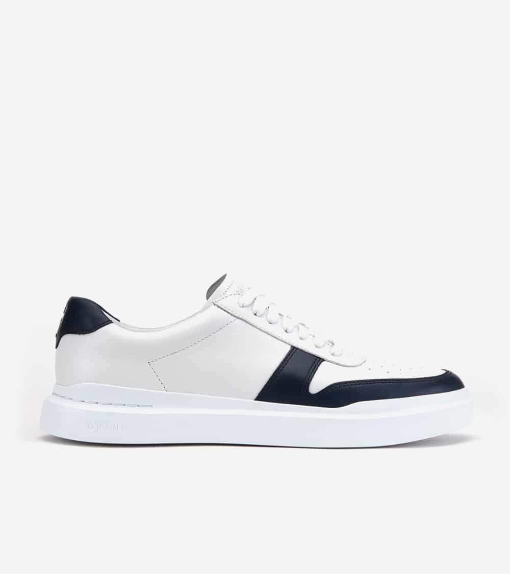 Cole Haan GrandPrø Rally Court Sneaker White / Navy
