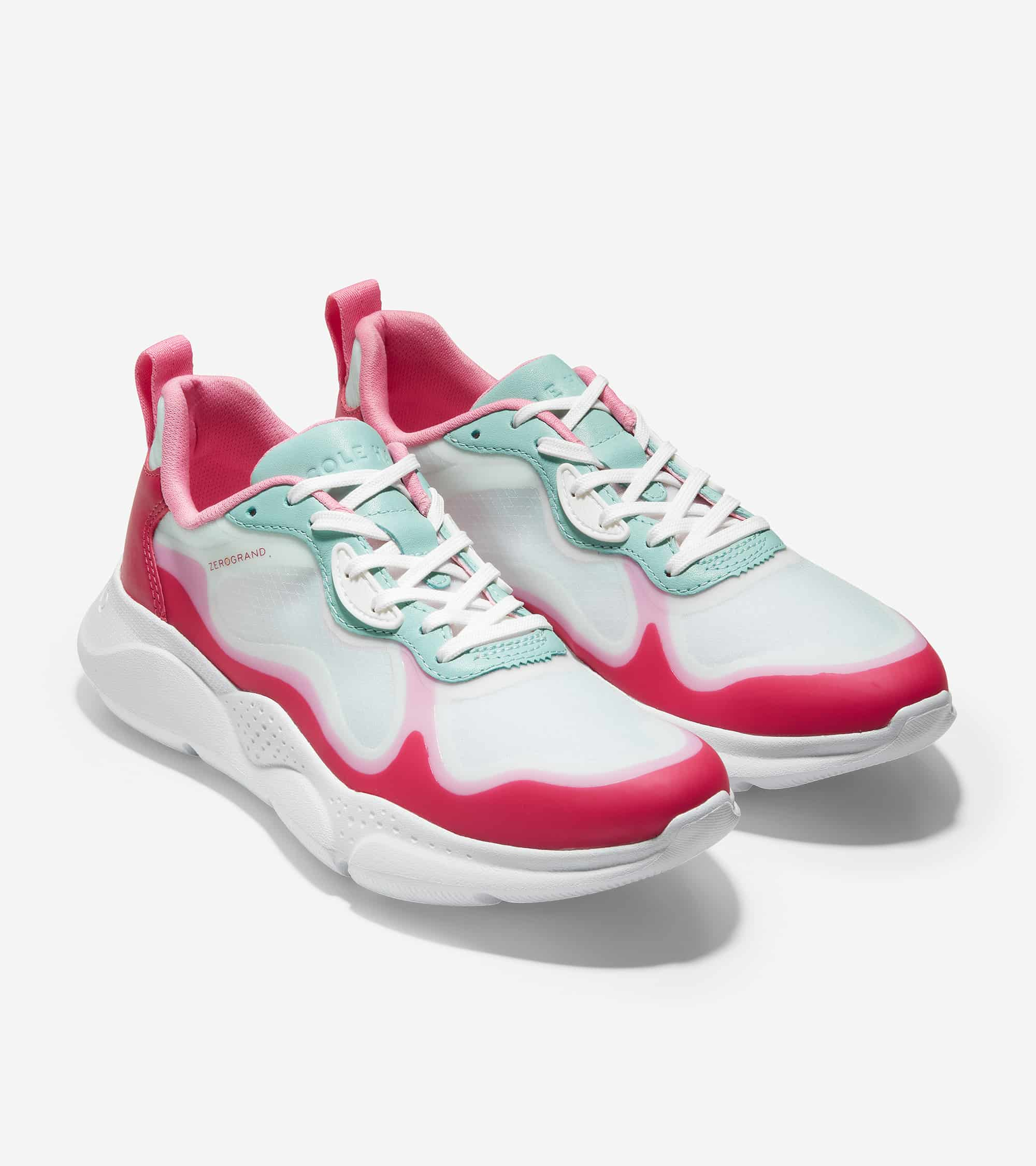 ZEROGRAND RADIANT SNEAKER LOVE POTION/TROPICAL PINK/BLUE TINT TPU/ BLUE TINT & LOVE POTION LEATHER/ OPTIC WHITE
