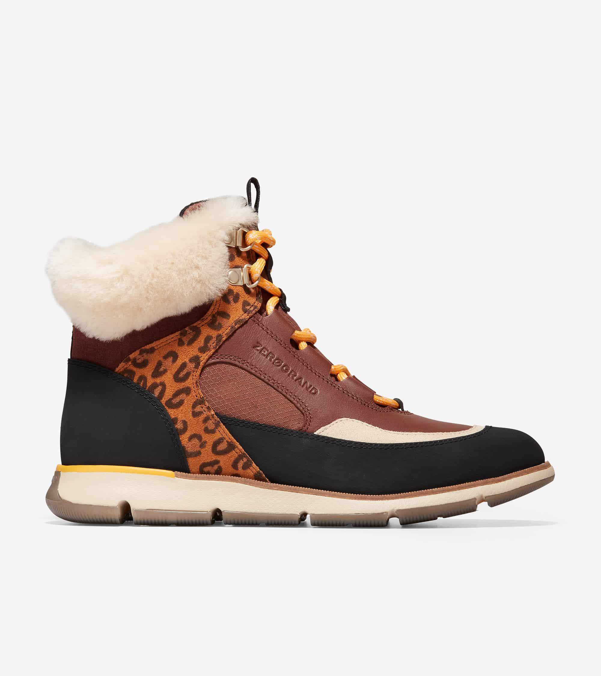 Cole Haan 4.ZERØGRAND Hiker Boot Woodbury-Leopard Print