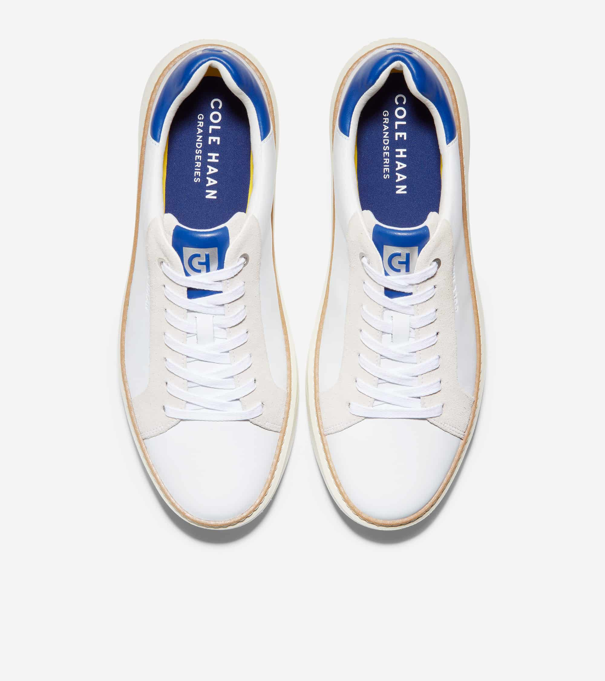 Cole Haan Grandprø Topspin Sneaker Optic White/Pacific Blue