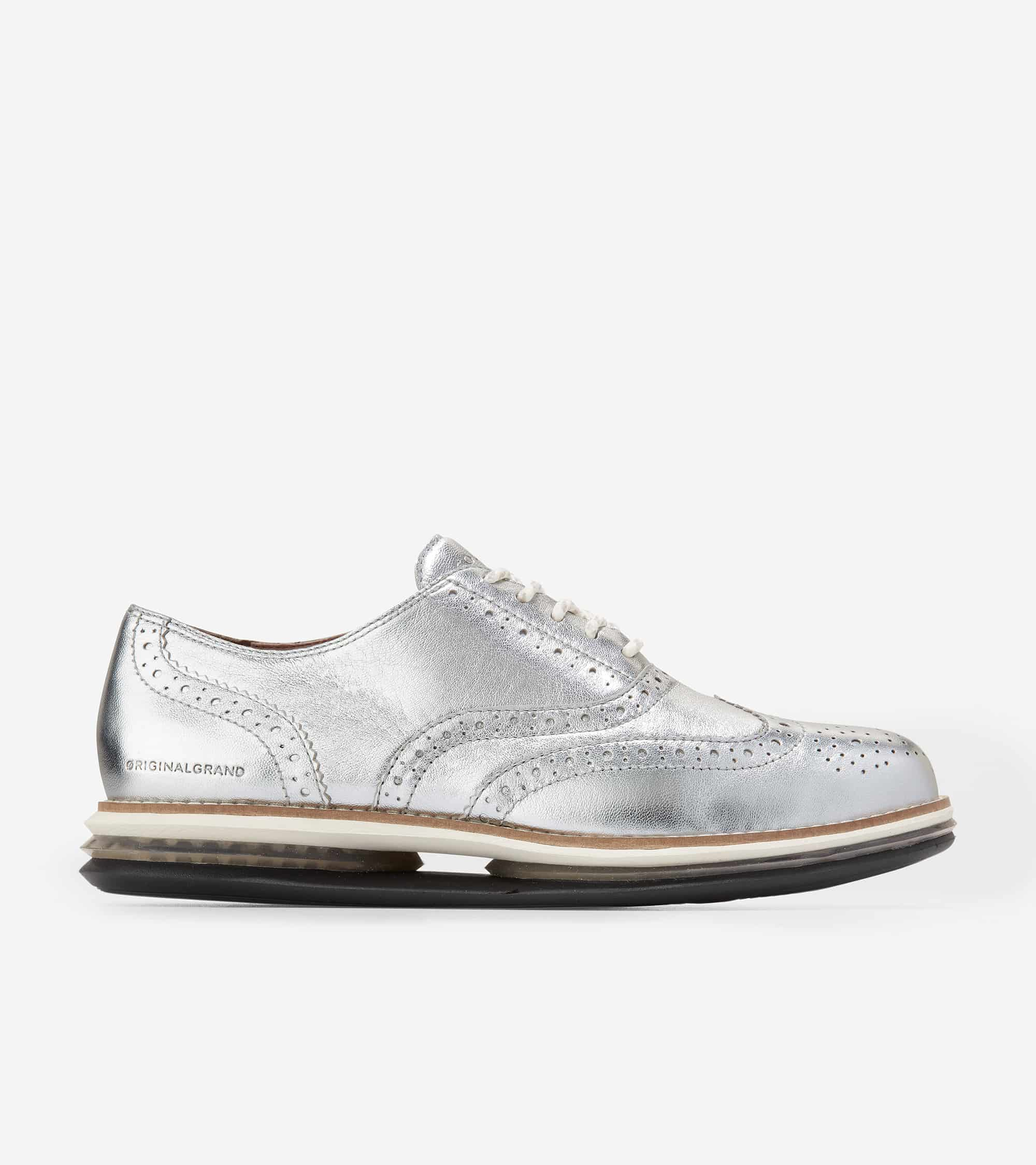 Cole Haan Øriginalgrand Cloudfeel Energy Twin Oxford Silver Talca/ Paloma/ Paloma Gel/ Black