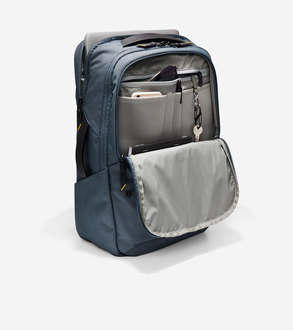 Cole Haan ZERØGRAND City Backpack Ombre Blue