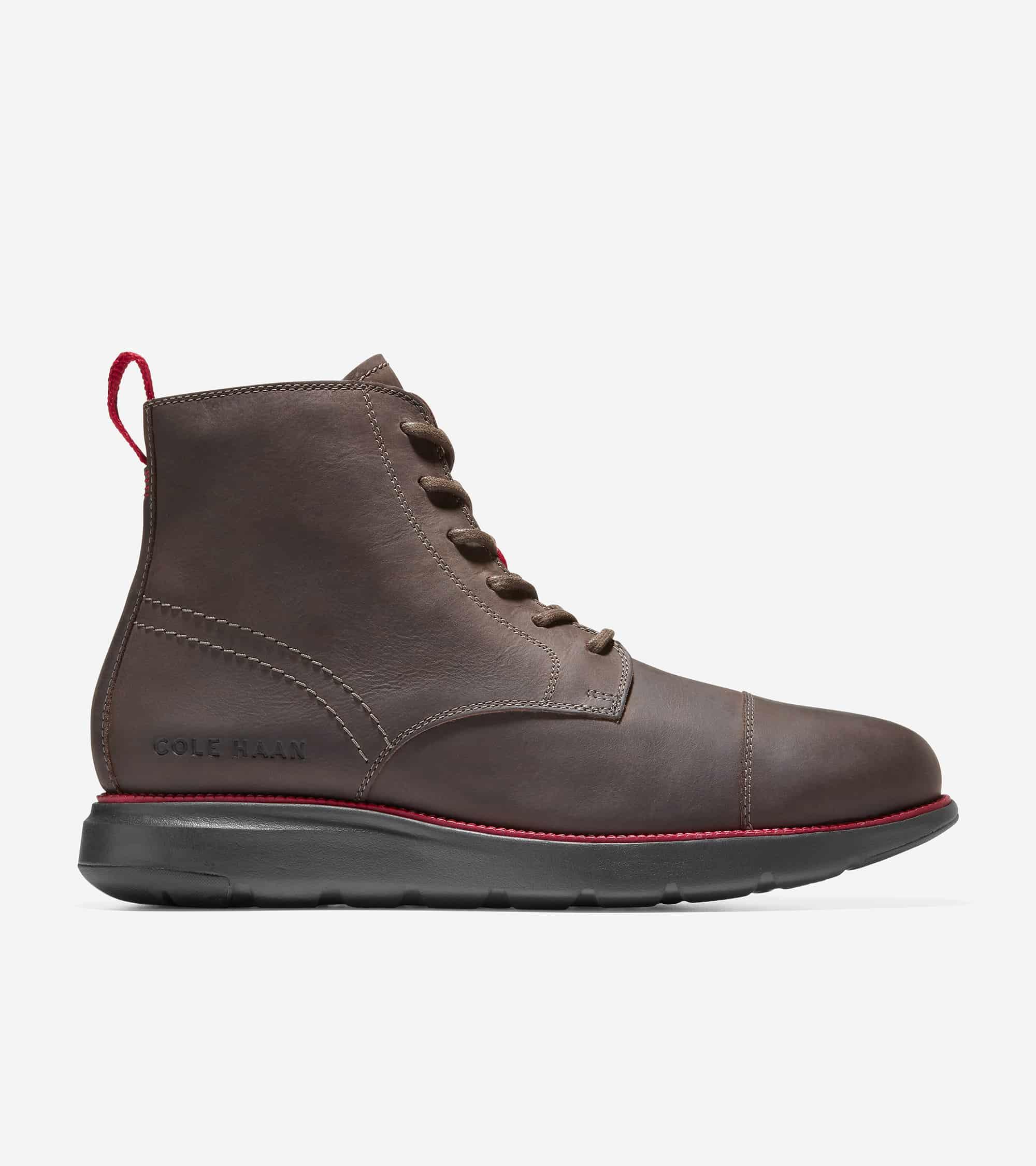 Cole Haan Grand Atlantic Boot Wren Brown-Dark Roast