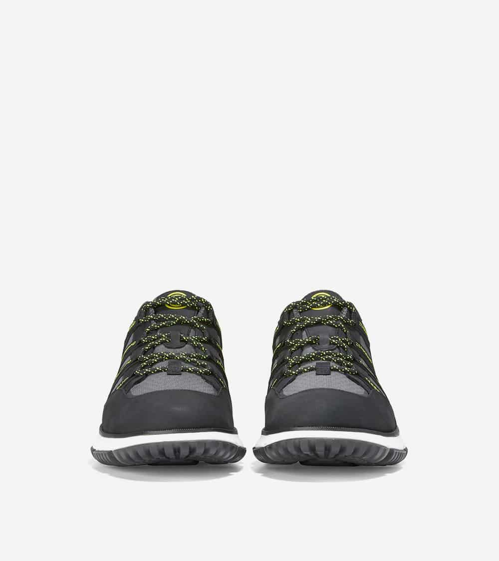 Cole Haan 4.ZERØGRAND Seventy-Five Sport Ox Black Nubuck/Gray