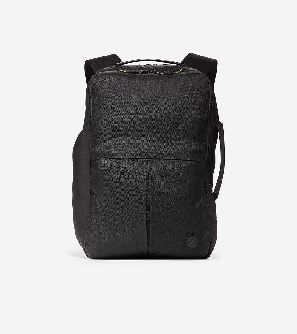 Cole Haan ZERØGRAND Slim Convertible Backpack Black
