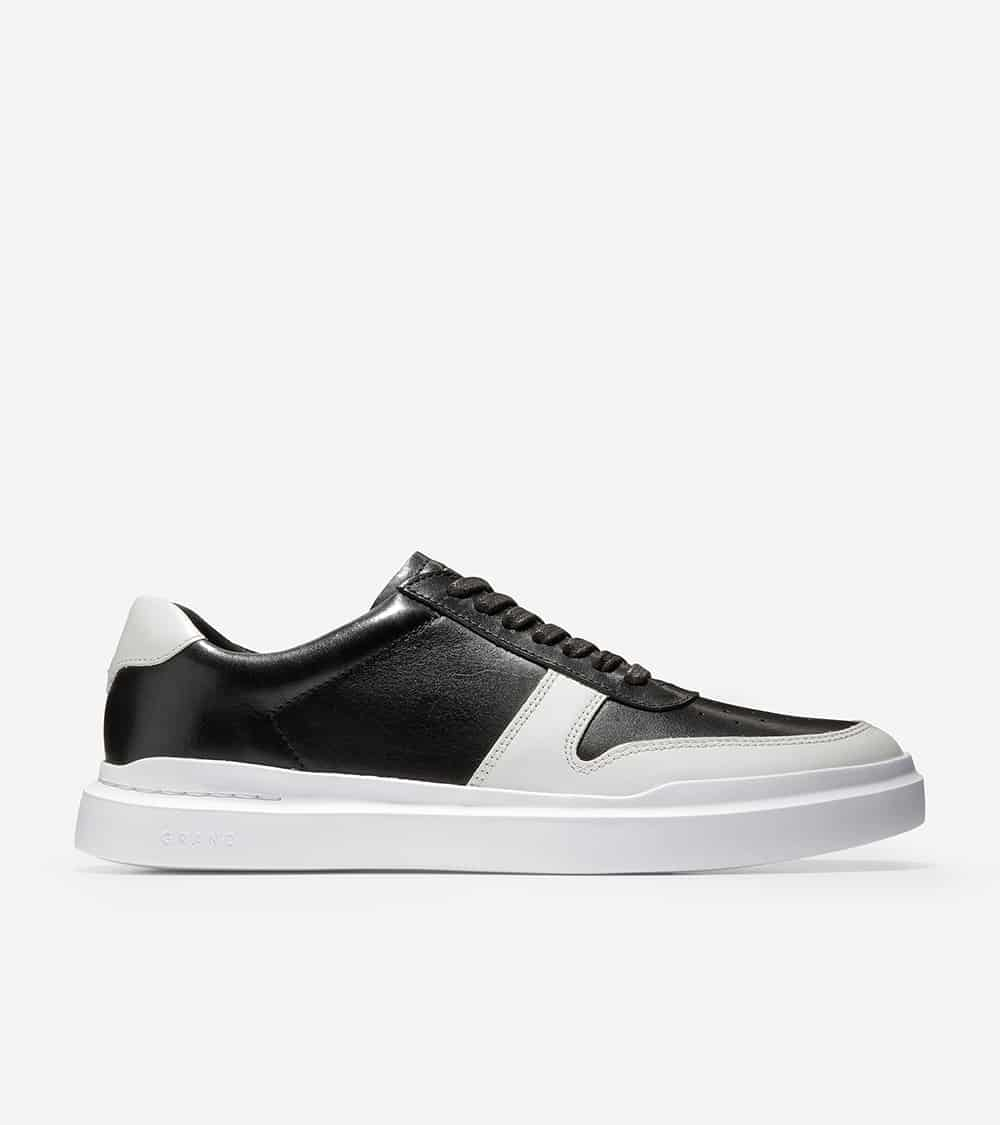 Cole Haan GrandPrø Rally Court Sneaker Black / White