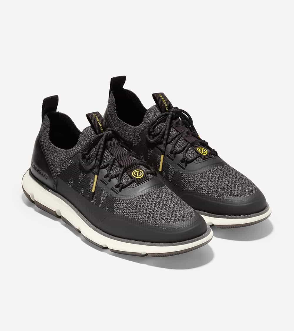 Cole Haan 4.ZERØGRAND  Stitchlite Sneaker Black/Ivory-Black