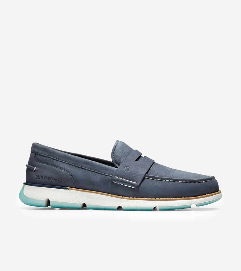 Cole Haan 4.ZERØGRAND Loafer Ombre Blue Nubuck/Optic White-Blue Tint