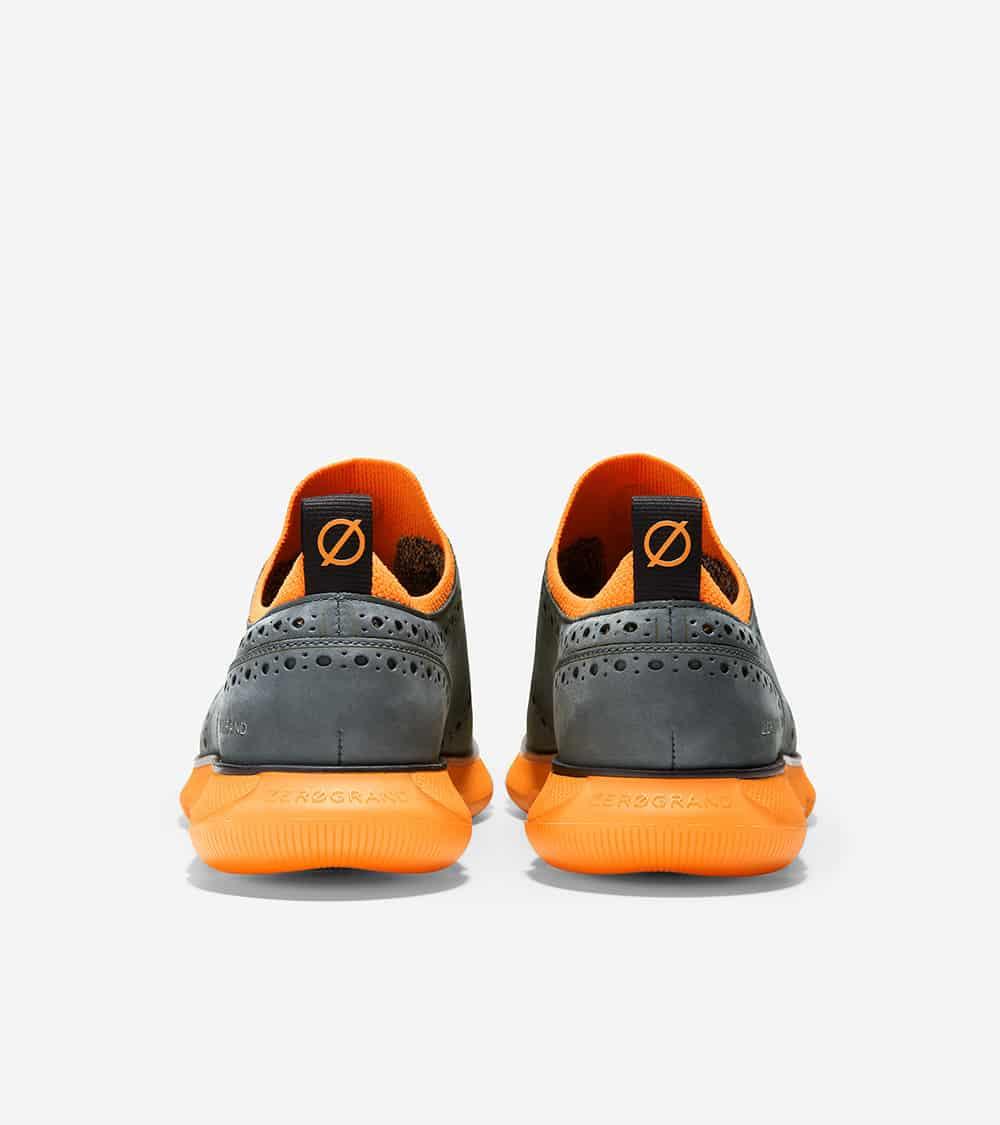 Cole Haan 4.ZERØGRAND Oxford Turbulence Nubuck/Vibrant Orange