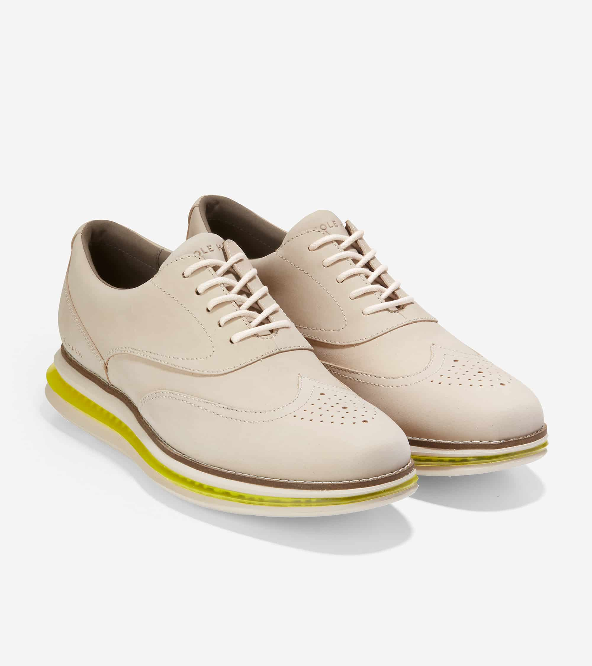 Cole Haan Øriginalgrand Cloudfeel Energy One Wgox Cement/Ivory-Safety Yellow