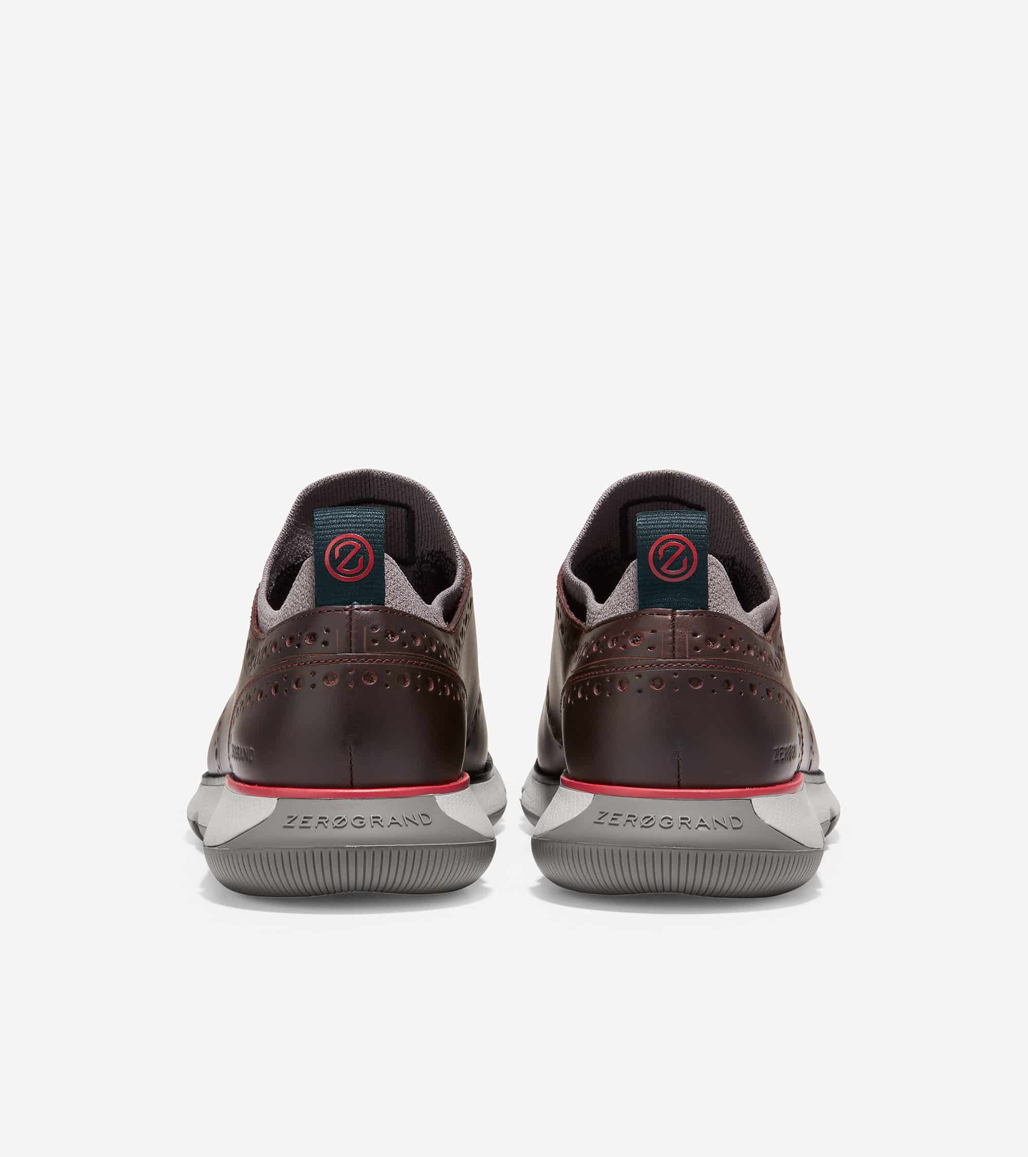 Cole Haan 4.ZERØGRAND Oxford Ch Pinot/Ivory-Charcoal
