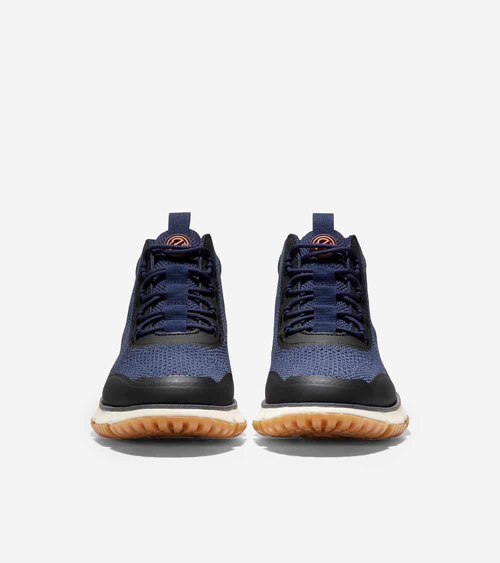 Cole Haan 4.ZERØGRAND Stitchlite Boot Wr Peacoat/Dark Denim Knit/Ivory