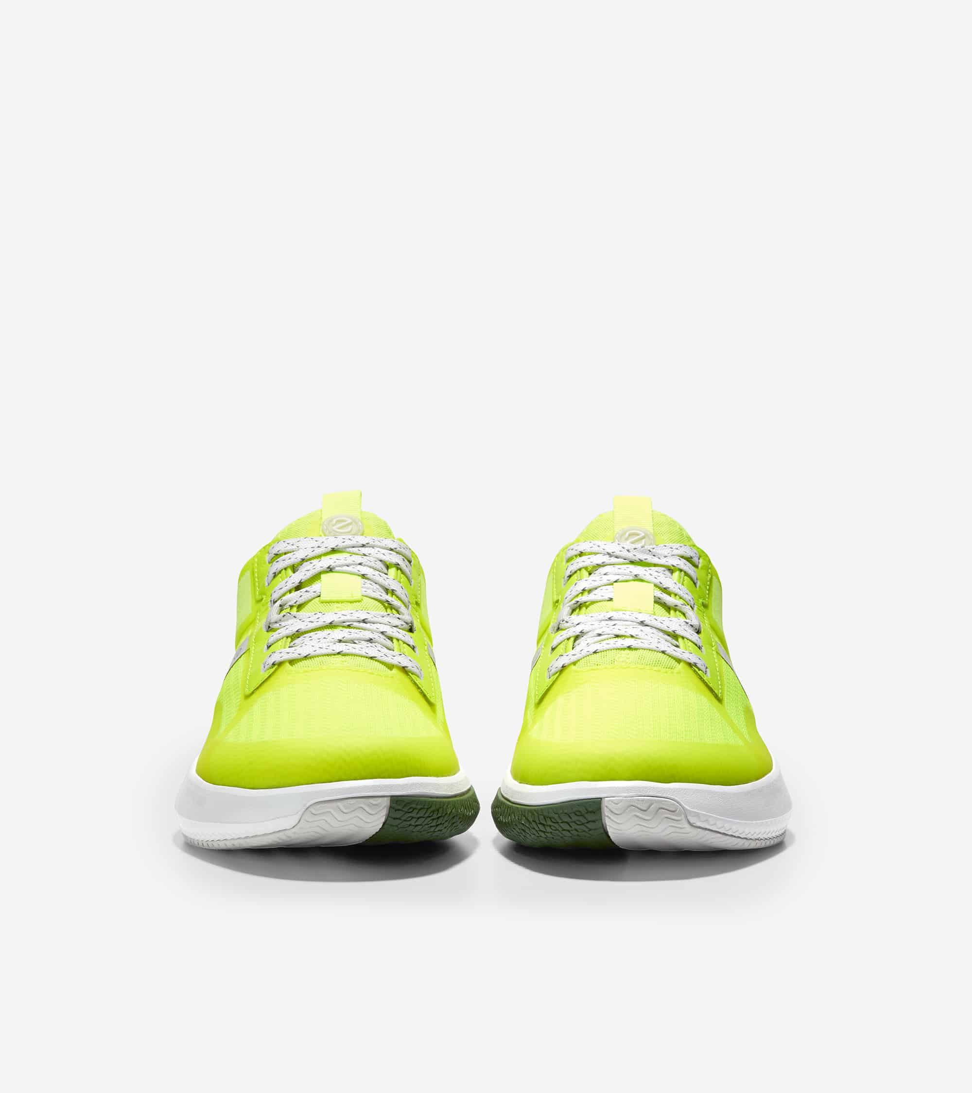 Cole Haan ZERØGRAND Winner Tennis Sneaker Safety Yellow/Nimbus Cloud/Optic White