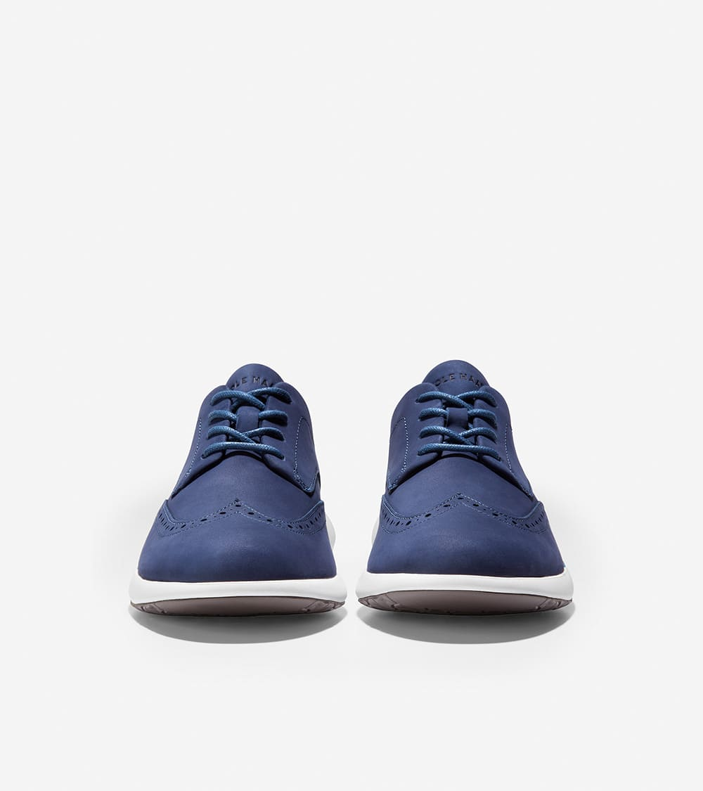 Cole Haan Grand Troy Wing Ox Marine Blue