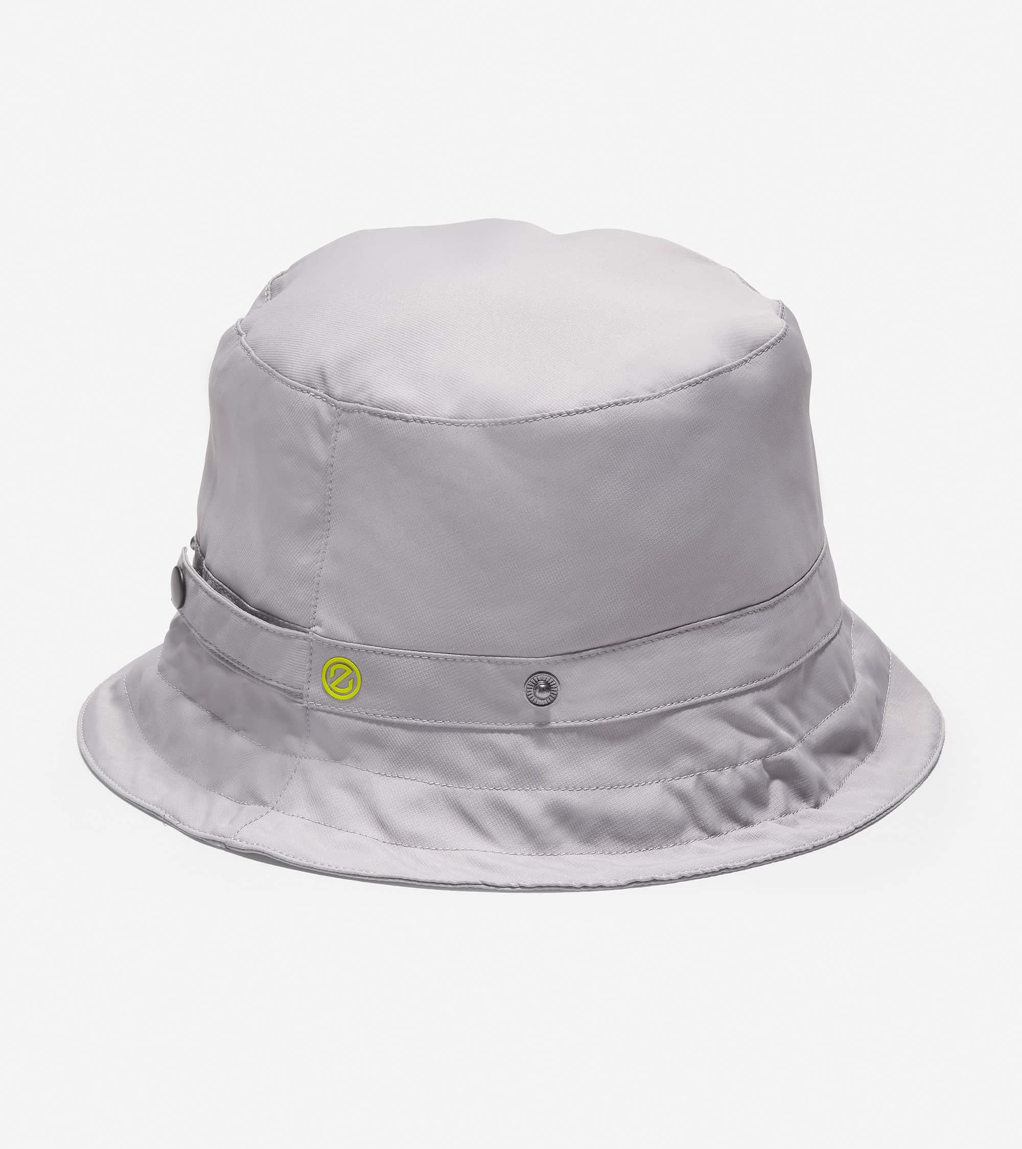 Cole Haan ZERØGRAND Packable Bucket Hat  Ironstone