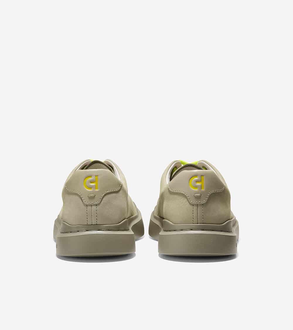 Cole Haan GrandPrø Rally Laser Cut Sneaker Masonary Nubuck Yellow