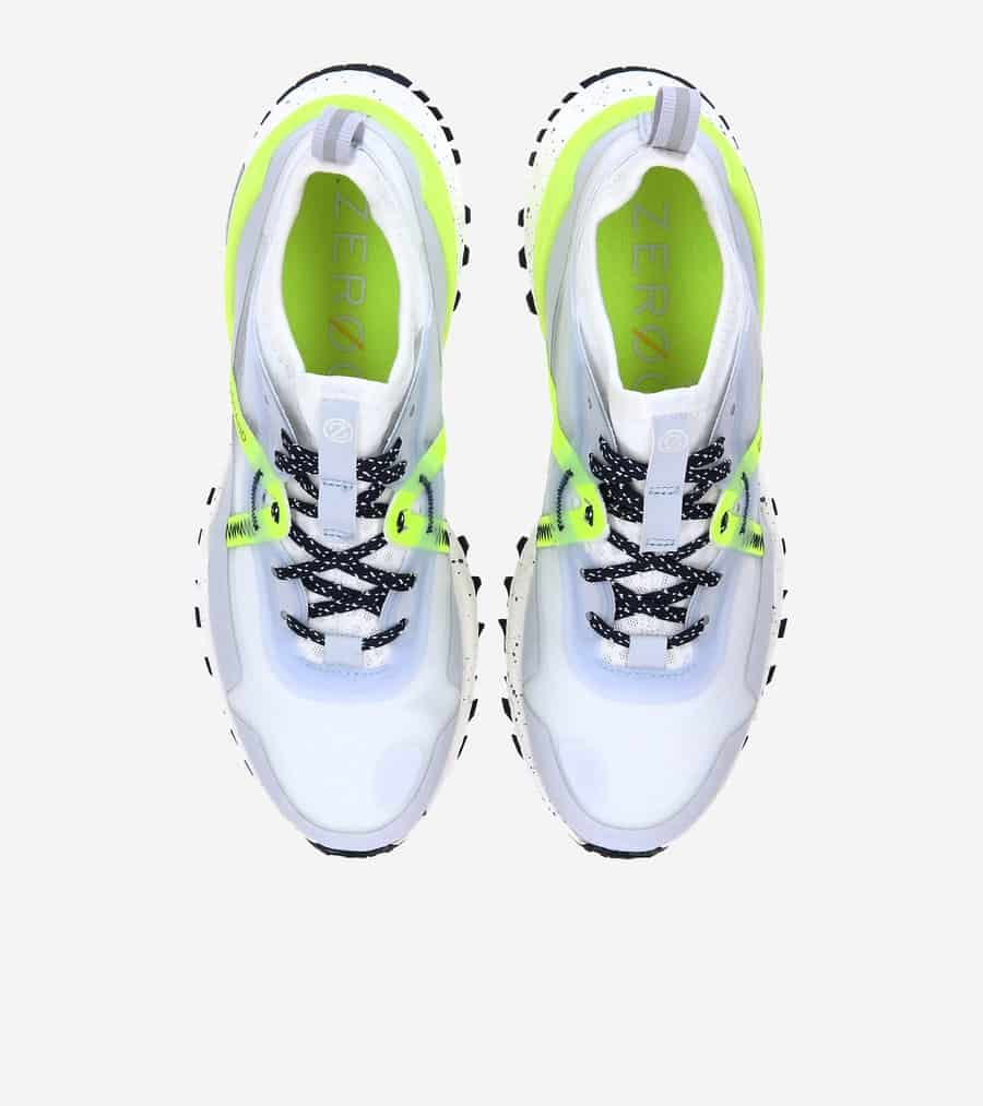 Cole Haan ZERØGRAND Overtake All Terrain Wr Arctic Ice Emboss Wr/ Safety Yellow